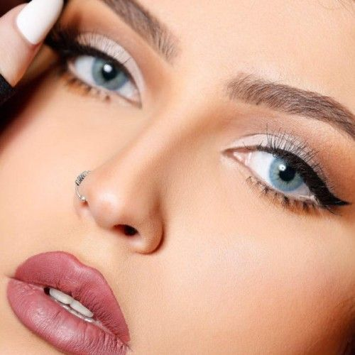 سكاي بلو Nose Ring Beautiful Eyes Eyes