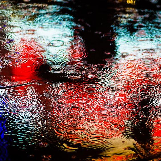 rain drops: