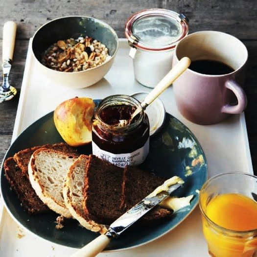 breakfast: