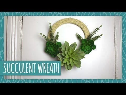 DIY Succulent Wreath - HGTV Handmade