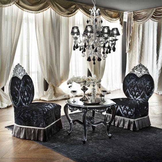 Barock Möbel sorgen auch heute für eine charmante Einrichtung