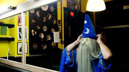 Una notte al Circolo Amici della Magia