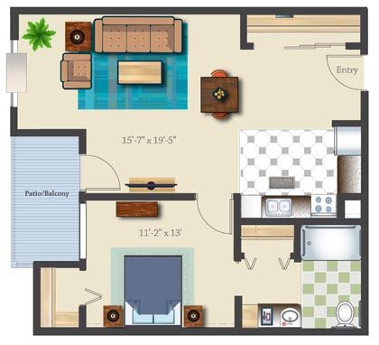 Independent Living 782 SF 1Bedroom1Bathroom Granny Pod