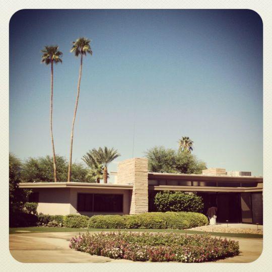Twin Palms, Frank Sinatra House: