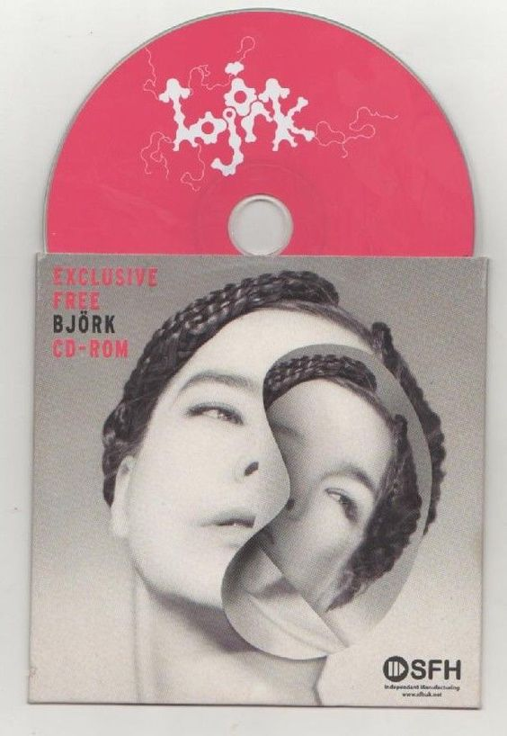 bjork - desired constellation rare promo cd