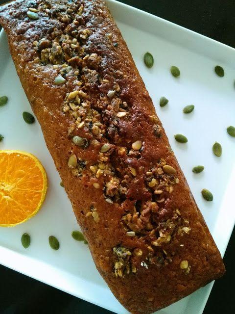 Cocina Maud: Queque de Zanahoria, Miel y Semillas