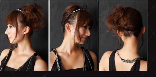 Cute Japanese twist with flowing hair on the side (best name I could think of) hair tutorial