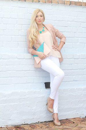 light-pink-h-m-blazer-aquamarine-pree-brulee-necklace.jpg (300×450)