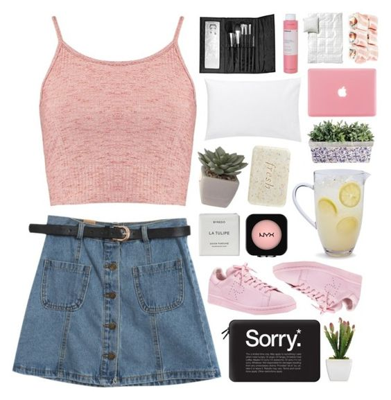 """""""Untitled #929"""" by innesdesigns ❤ liked on Polyvore featuring Boohoo, Chicnova Fashion, Casetify, adidas, Byredo, NYX, Sur La Table, Fresh, Jigsaw and Sephora Collection"""