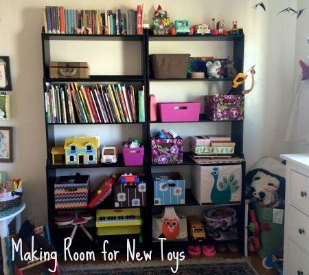 5 Steps for Making Room for New Toys