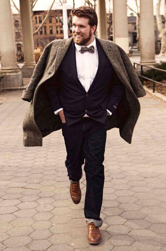 Así es Zach Miko, el primer modelo masculino de talla grande