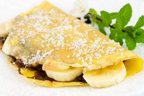 Receita de Crepes Flamejados com Banana - http://www.receitasja.com/receita-de-crepes-flamejados-com-banana/