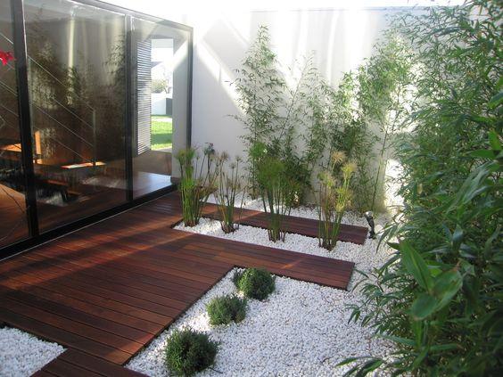 deck de madeira para jardim de inverno 2