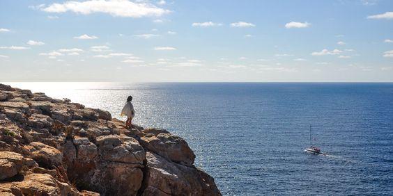 Malerische #Ausblicke an der #Küste von #Ibiza © Carina Dieringer/modelirium.at