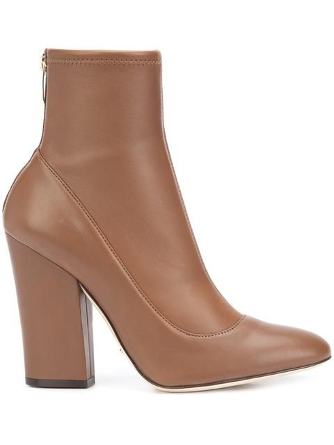 SERGIO ROSSI rear zip ankle boots. #sergiorossi #shoes #boots