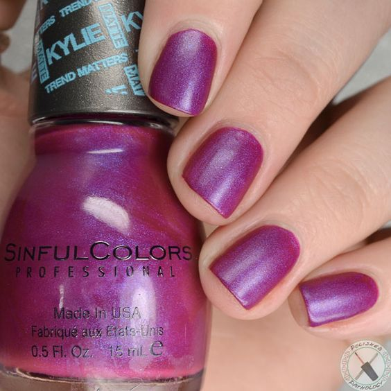 kylie jenner korset from sinful colors - Vernis Sinful Colors