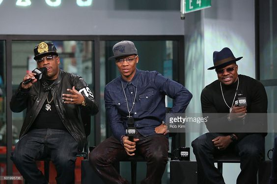 Michael Bivins, Ronnie DeVoe and Rick Bell of Bell Biv DeVoe attend the Build Series at Build Studio on January 18, 2017 in New York City.