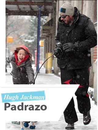 Feliz Día del Padre Hugh! Doting Daddy #hughjackman