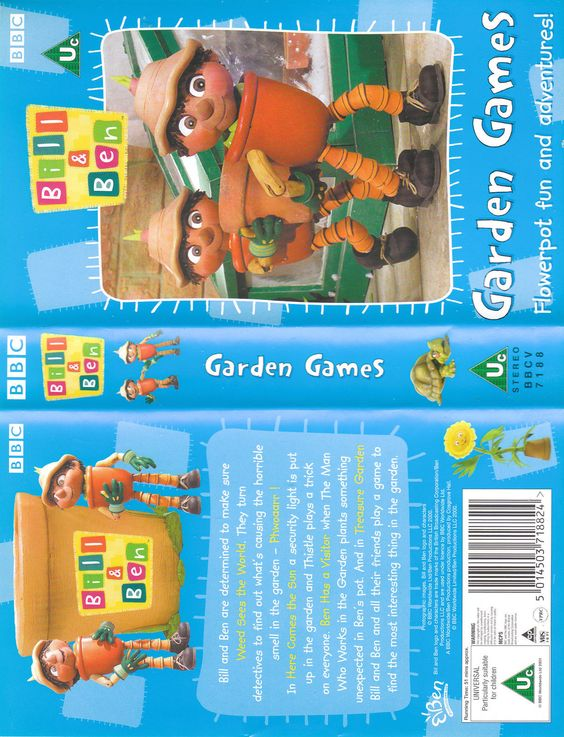 Vhs  bill & ben #garden #games,  View more on the LINK: http://www.zeppy.io/product/gb/2/201715448868/