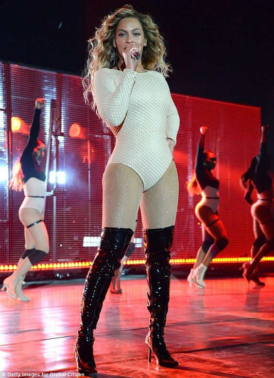 Flawless: Beyonce put on quite the show during the 2015 Global Citizen Festival at Central Park In New York City on Saturday night