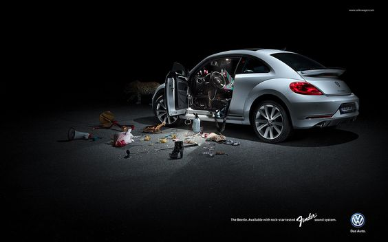 MICHAEL SEIDLER PHOTOGRAPHY - VW Beetle Rockstar Campaign | Michael Seidler  | presented by GoSee ©
