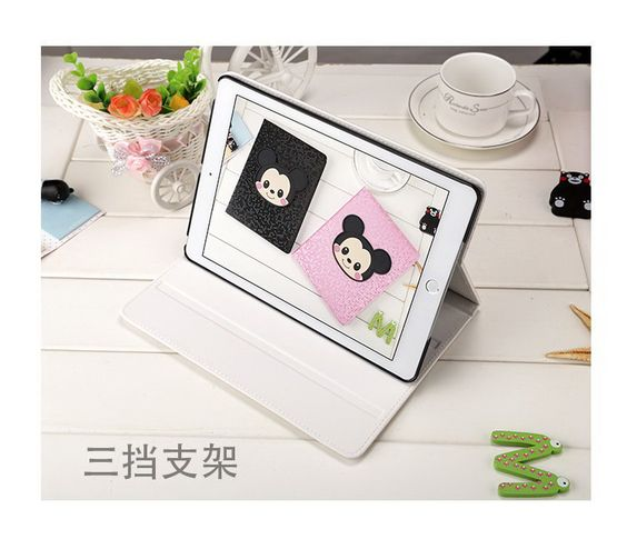 Inch protective case with mouse cartoon pattern