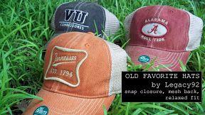 Legacy92 hats
