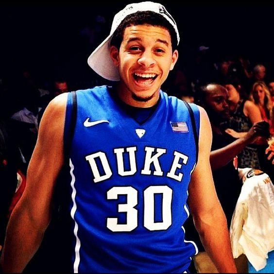 Seth Curry - One of my FAVORITE college basketball players for the past years. Let's go Devils!