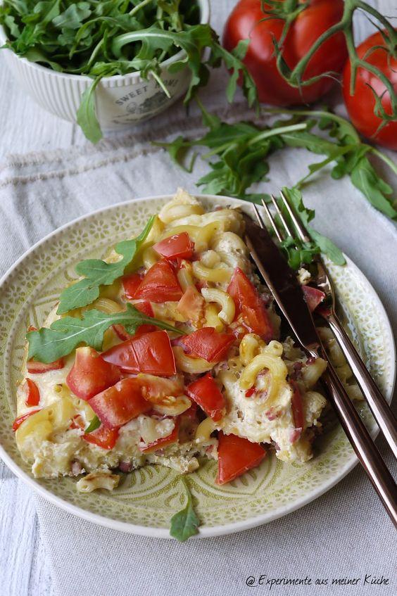 Experimente aus meiner Küche: Nudelfrittata #FoodwasteABC