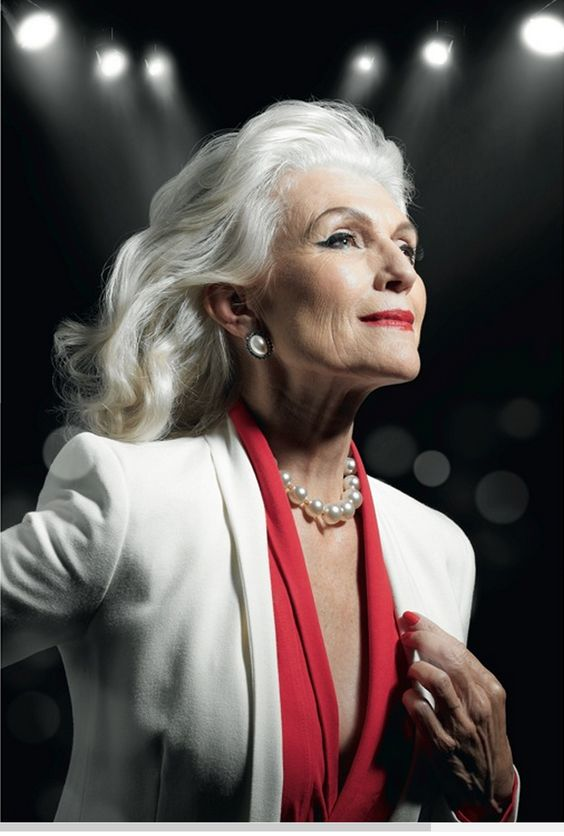 Maye Musk (age 64) a supermodel with the Ford Modeling Agency:
