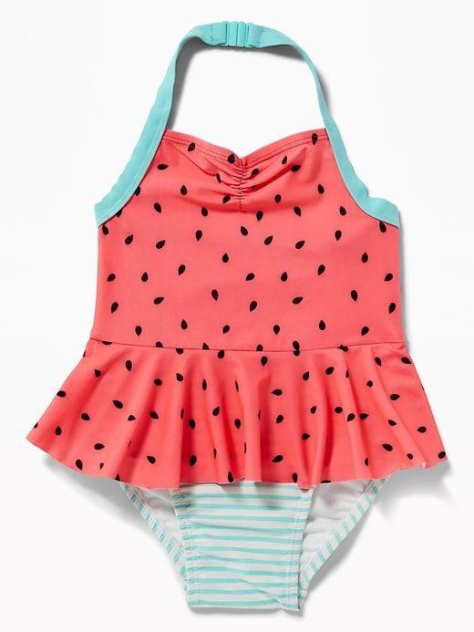 OP Polka Dot Baby Girls 2 Piece Bikini Swim Suit Swimsuit