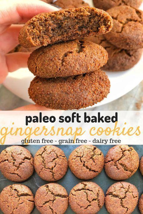 Paleo Soft Baked Gingersnaps