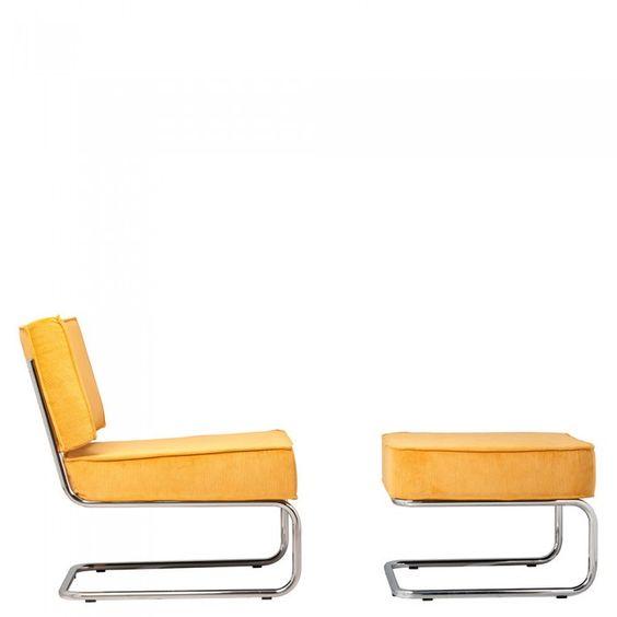 Silla butaca Ridge Lounge Rib moderna Butacas modernas Pinterest - butacas modernas
