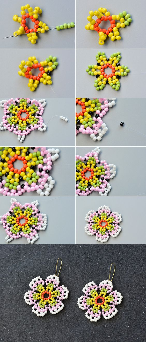 Like the colorful seed beads earrings?The detail will be published by LC.Pandahall.com