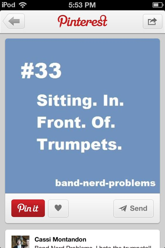 Man, I AM the trumpets