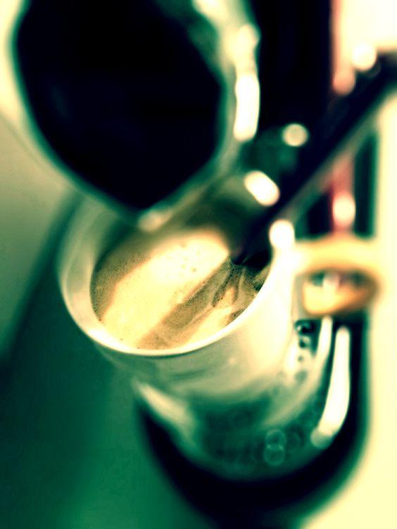 Guten Morgen…senile Bettflucht…erstmal Kaffee…#Nespresso