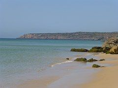 Portugal, Kristallklares Wasser, Strand