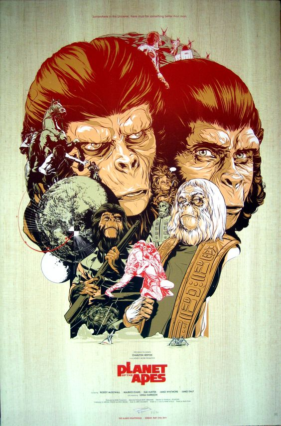 Planet of the Apes (1968) (Franklin . Schaffner)