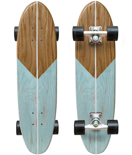 I'de learn to skate just to be able to own this hand shaped, hand painted board - just a beauty.