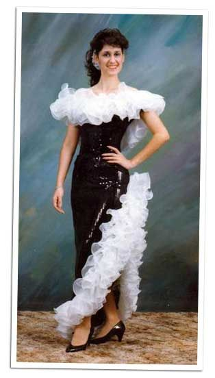 Yes...I will repeat it...REALLY ugly prom dresses!   1980s ...