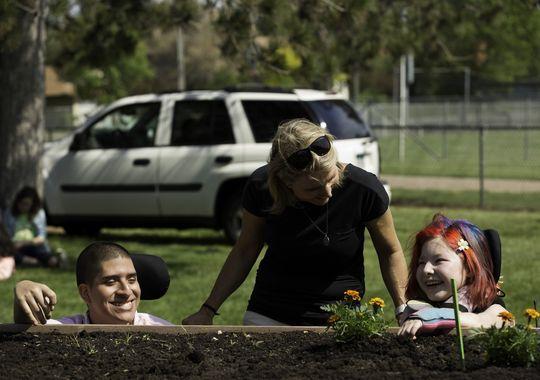 Grow with KARE: Monticello Middle School garden