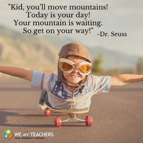 Dr Seuss Kid You Ll Move Mountains: Pinterest • The World's Catalog Of Ideas