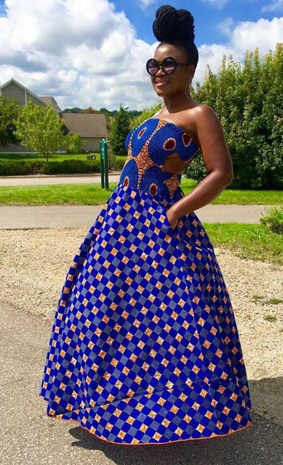 African-fashions-latest-collection ~DKK ~African fashion, Ankara, kitenge, African women dresses, African prints, African men's fashion, Nigerian style, Ghanaian fashion.