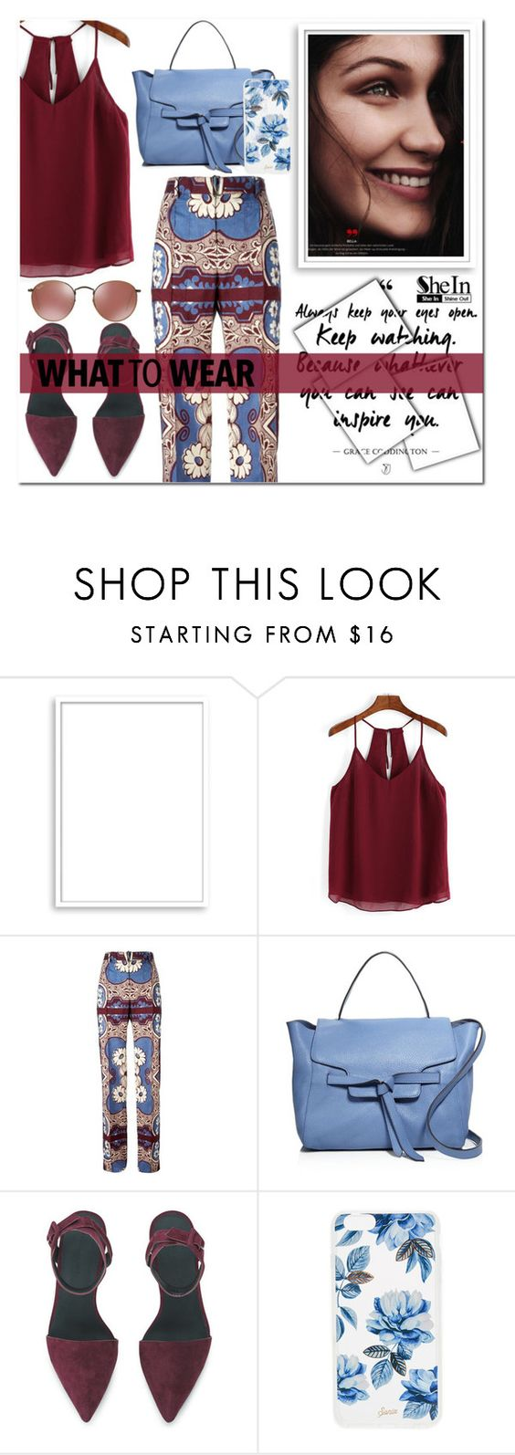 """""""SheIn ♥"""" by av-anul ❤ liked on Polyvore featuring Bomedo, Valentino, Annabel Ingall, Alexander Wang, Sonix, shein and avanul"""