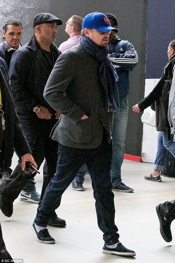 Leonardo DiCaprio arrives in Paris to promote Before The Flood documentary | Daily Mail Online