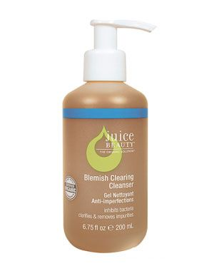 Blemish Clearing Cleanser by Juice Beauty ($22). This cleanser has become a staple to my face care routine. I like that all of its ingredients are natural. Unlike most products I have tried, this cleanser does not dry out my skin. It also does an amazing job at keeping my skin clear of blemishes.