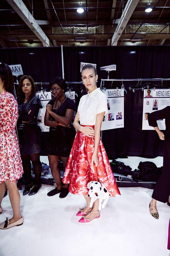 behindthecurtain kate spade new york spring 2016 | fashion week ...
