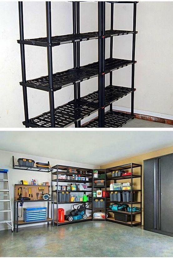Storage Ideas For 1 Car Garage And Storage Ideas For Motorhome Garage Tip 13369567 In 2020 Garage Storage Storage Garage