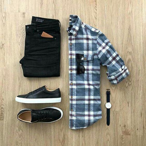 تنسيقات ملابس كاجوال رجالي ~Casual Outfits for Men ~Part 2