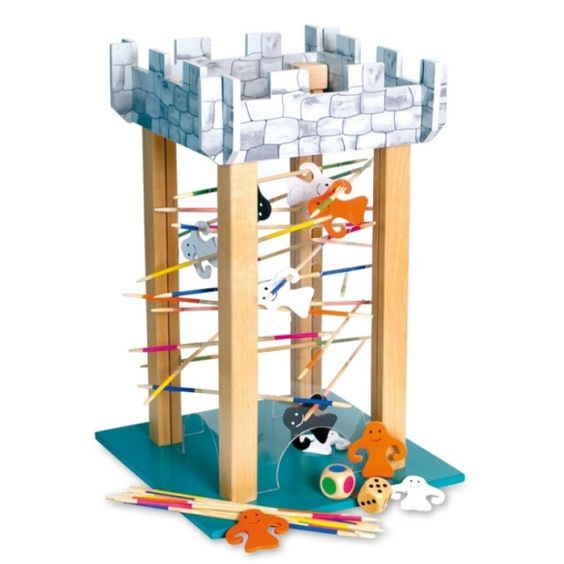 Een bijzonder nieuw spel van base toys de spoken toren een behendigheidsspel voor vingers en - Toren voor pergola ...